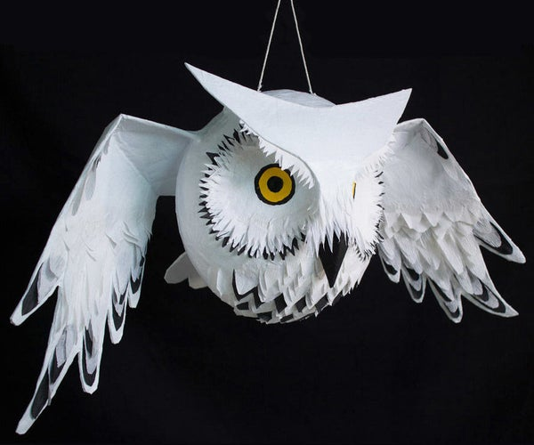 DIY Owl Piñata