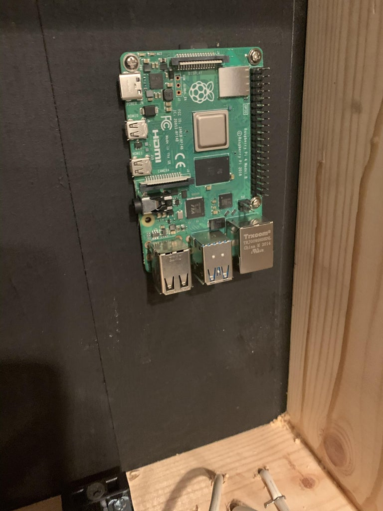 Mount the Electronics