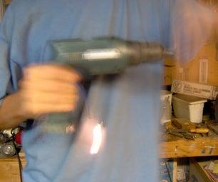 Generator Demonstration From Cordless Drill
