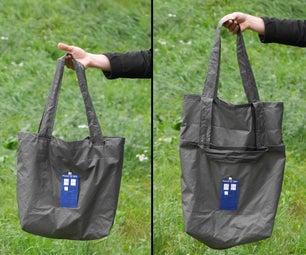 TARDIS Fading Light Bag - It's Bigger on the Inside...