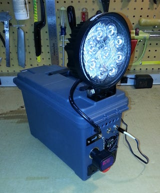 Portable Sun - Rechargeable Work Lamp