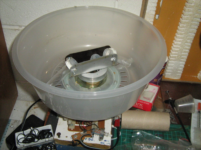 A Centrifuge built from VCR parts