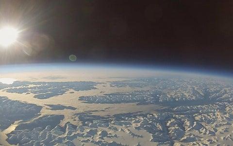 Balloon Launch Toward SPACE!