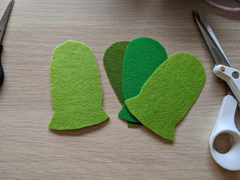 Cut Out Cactus Shapes