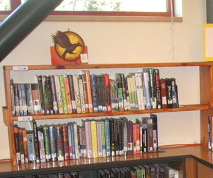 Shelf Topper for More Books More Beautifully in the Library