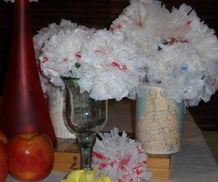 Plarn Carnations