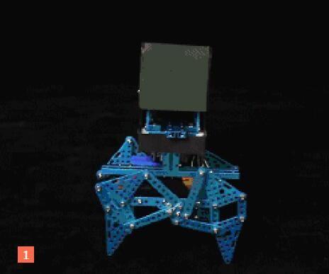 Four-legged Fort -- Halloween Themed Robots