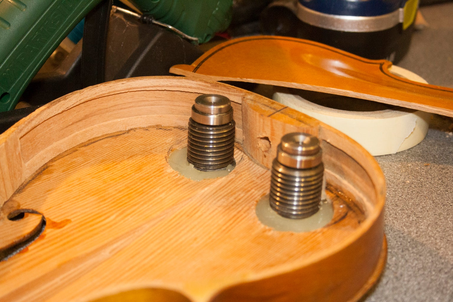 Bearings for the Carapace