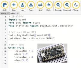 CircuitPython With an Itsybitsy M4 Express 1: Setup