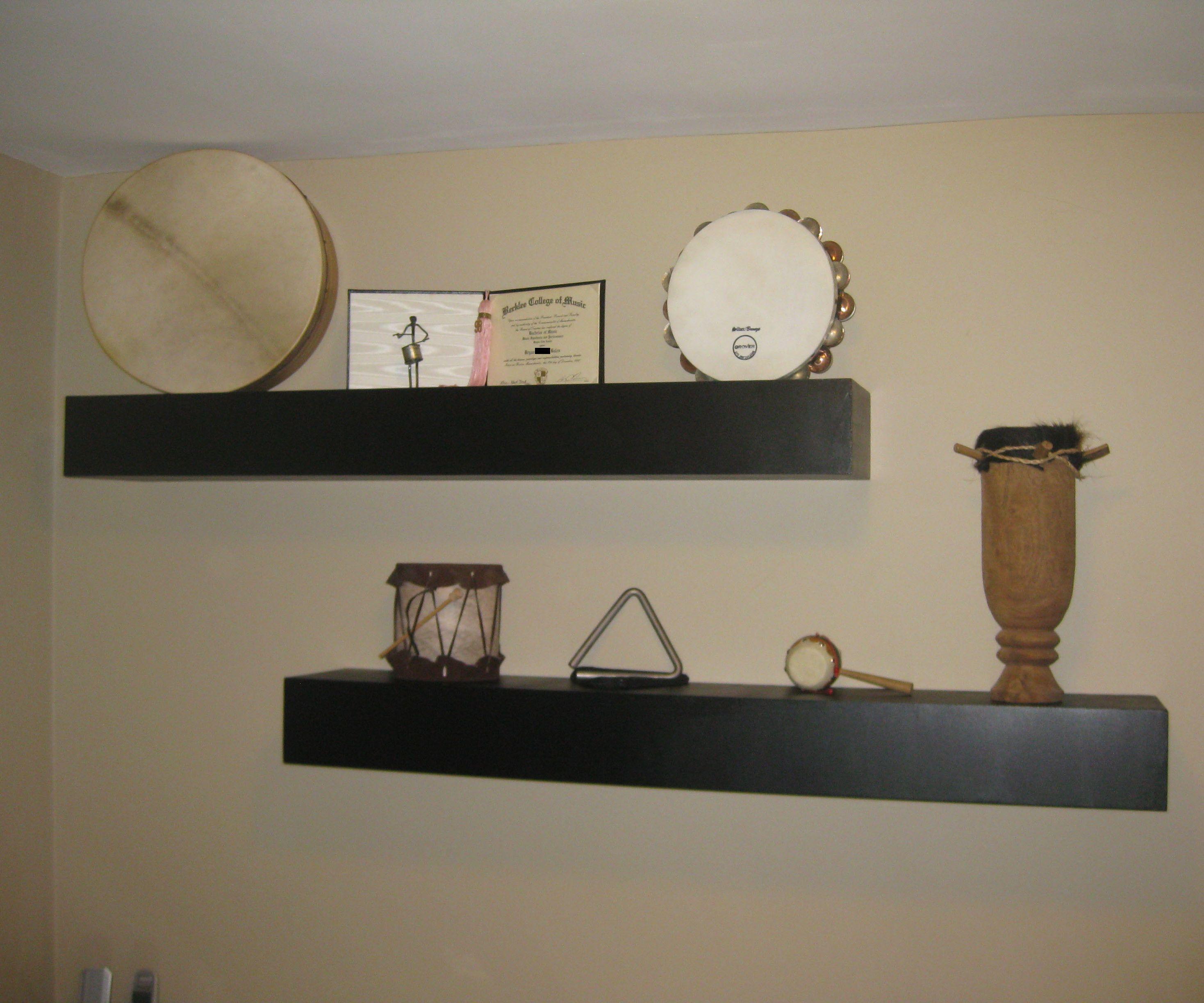 The Floating Shelves
