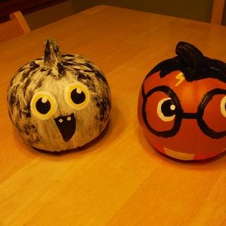 A Very Harry Halloween Pumpkin