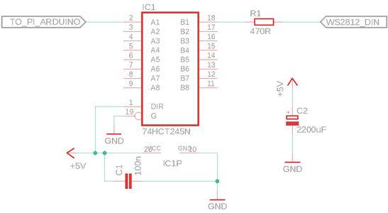 Raspberry Pi, Arduino and Power Supply