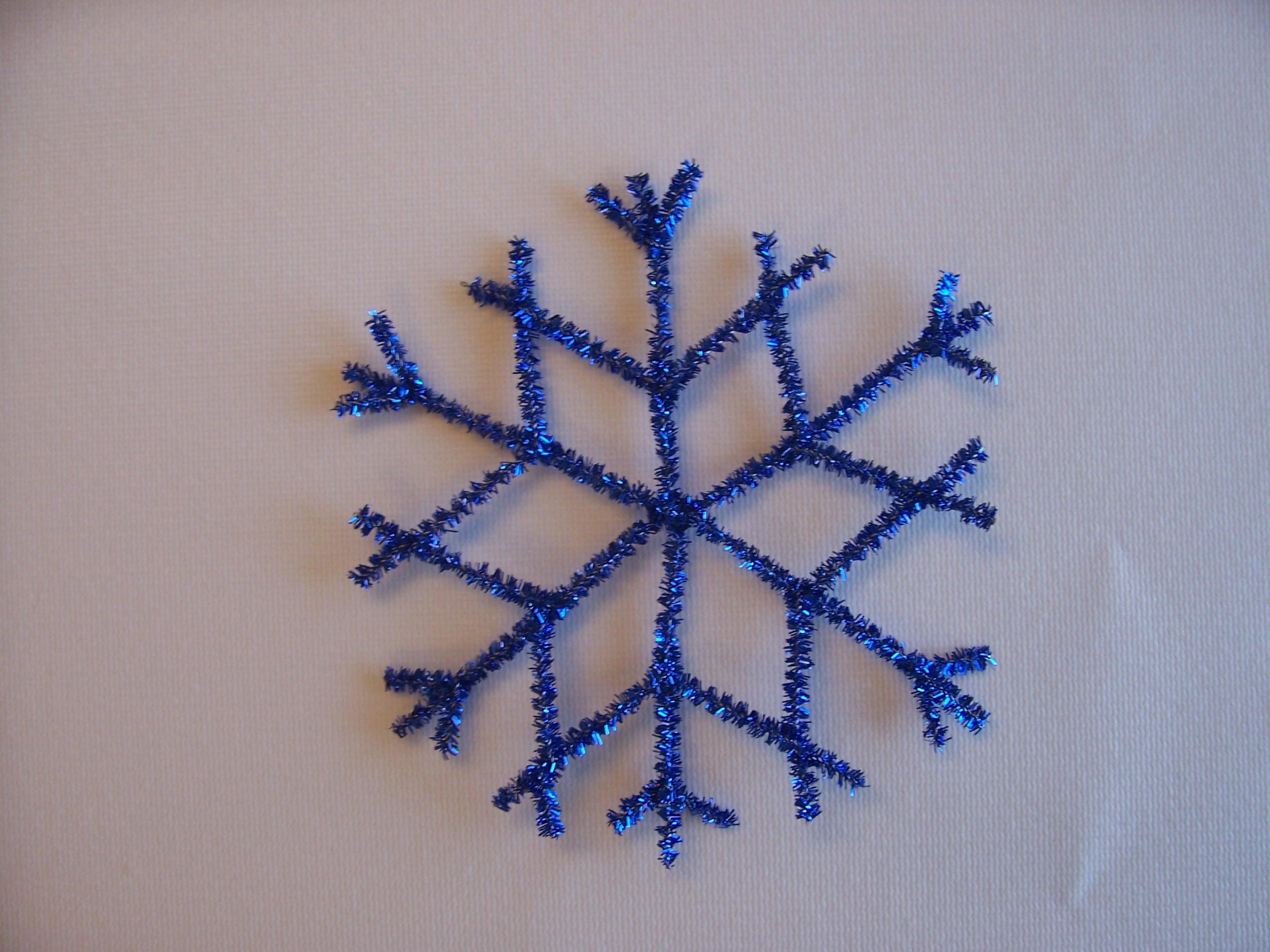 Retro Metallic Snowflake