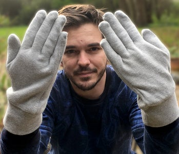 Gloves From Old Sweater