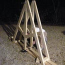 Making the frame and arm for a Trebuchet (Partial project)