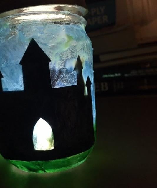 Fantasy Jar Lantern