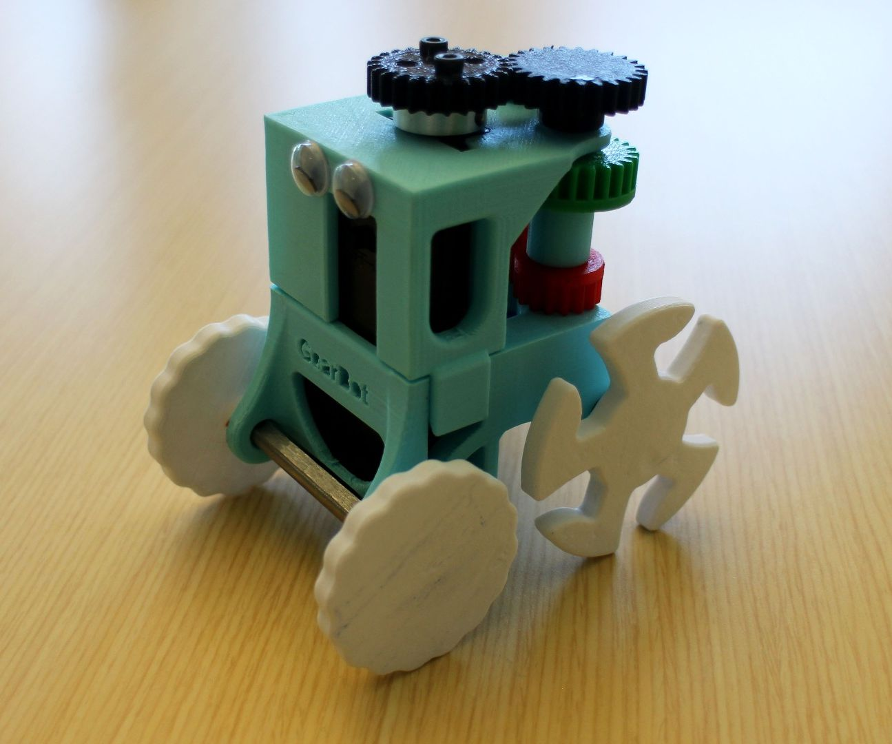 GearBot: A Dual Speed, Gear Driven Bot