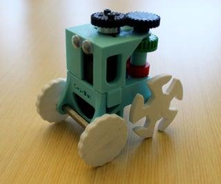 GearBot: a Dual Speed, Gear Driven Bot