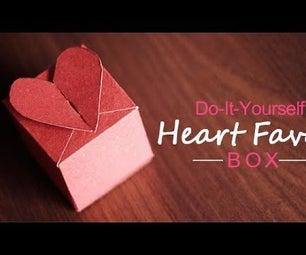 DIY : Heart Favor Box