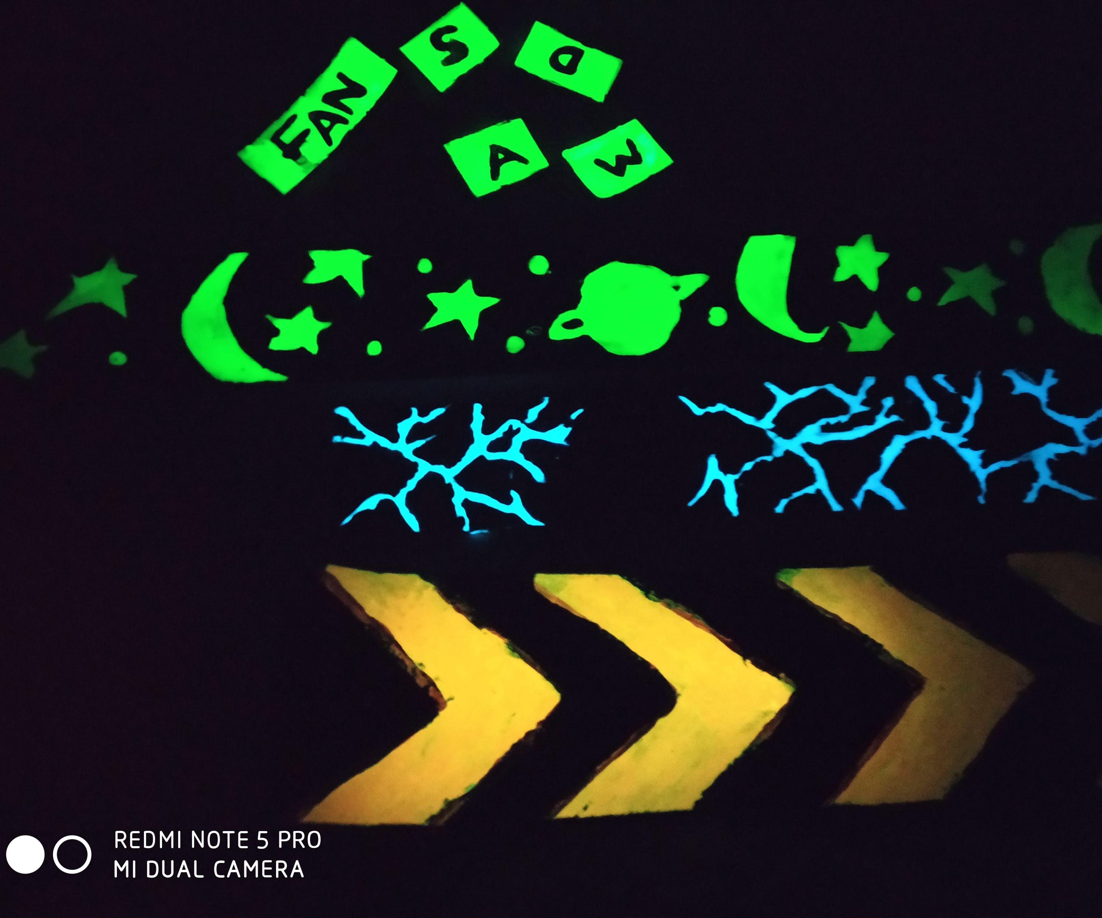 DIY Glow in Dark Tape