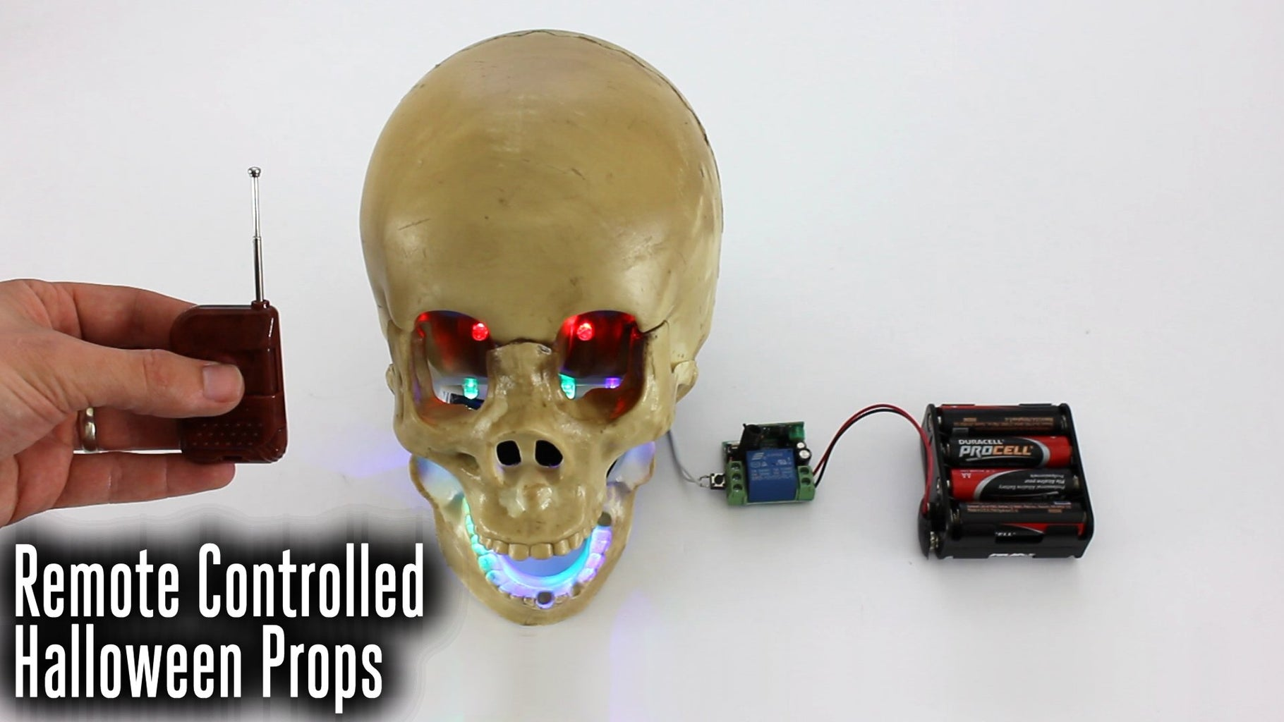 Remotely Control Your Halloween Props