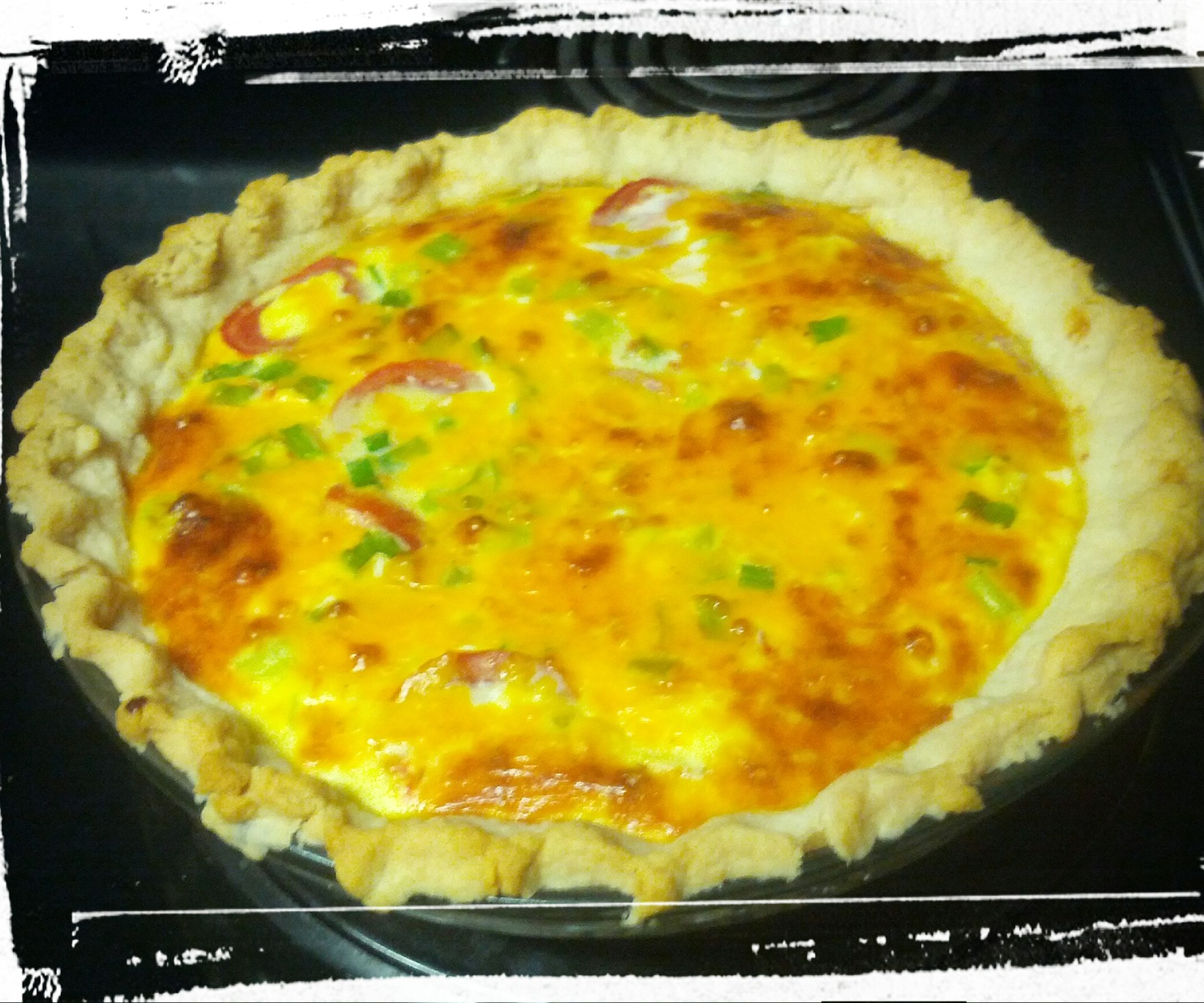 Provencal-Inspired Quiche