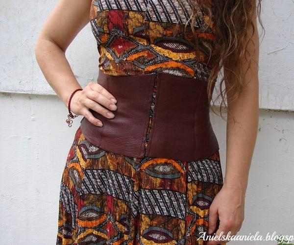Ciri's Leather Corset Belt (pattern)