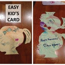 Easy Kid's Craft Card