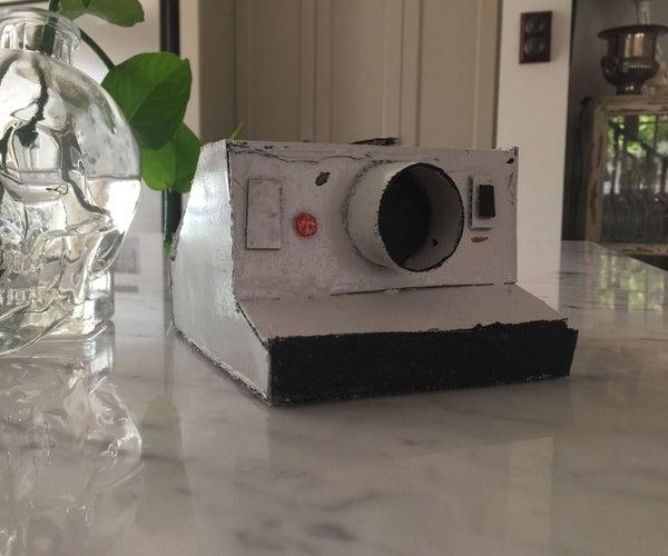 Cardboard Polaroid Camera