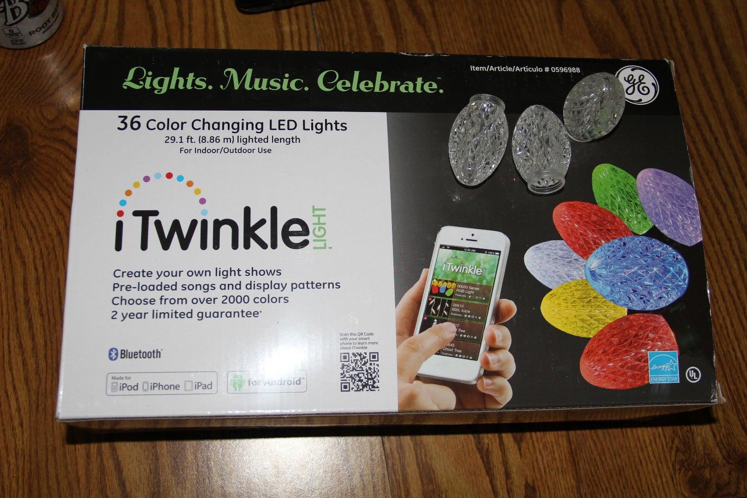 Choose Holiday Lights (GE Color Changing LED Lights)