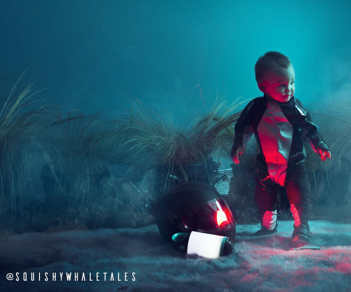 SPACE BABY HALLOWEEN COSTUME