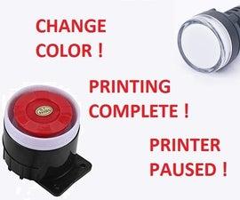 Color Change Alert Box for 3D Printer
