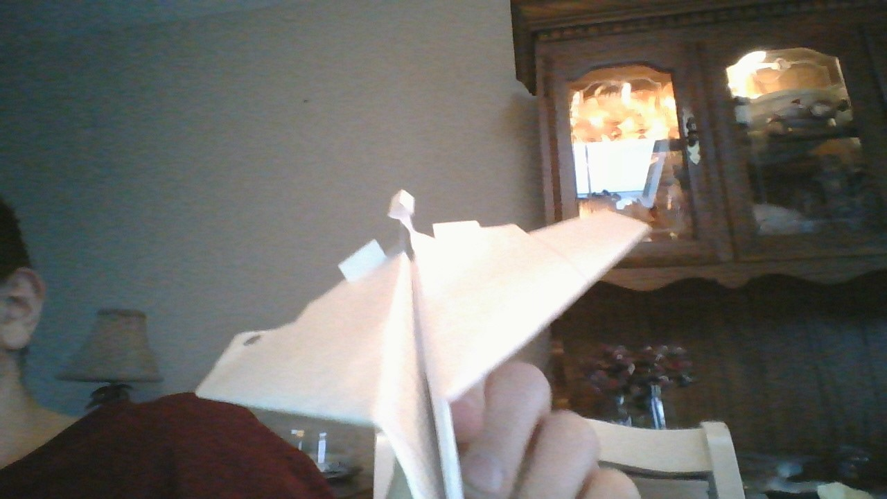 How to Make the UltraSpectre Paper Airplane