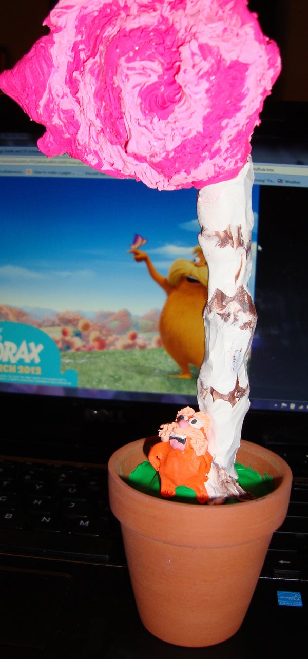 Potted Lorax & Truffula Tree: Earth Day Lesson