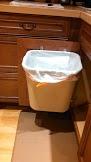 Kitchen Under-Sink Hanging Trash Can Holder