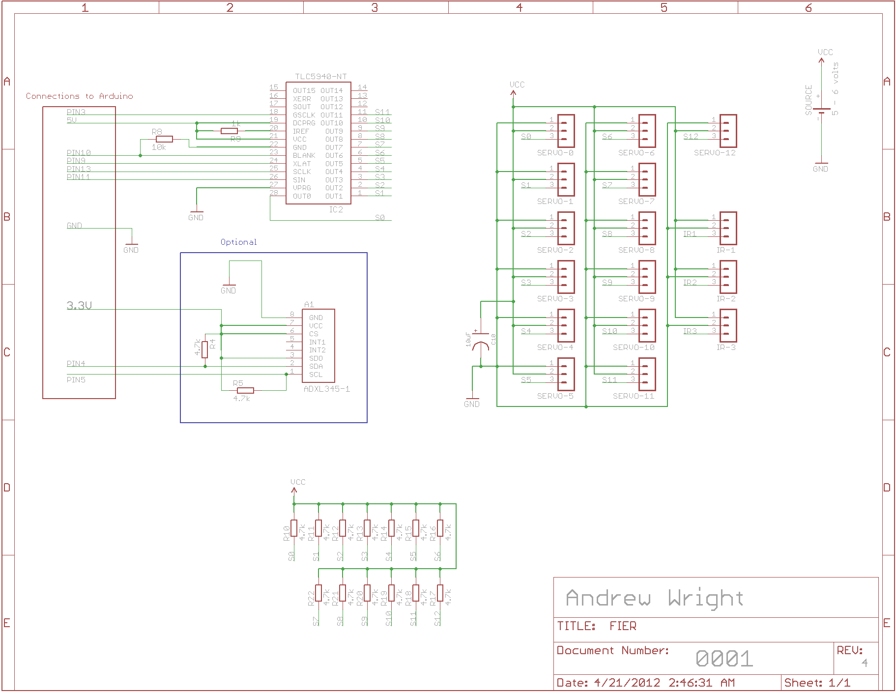 Microcontrollers Tlc5940 Circuit With Usb Hub Power Have A Look On This It Use 16 Channel Pwm Unit To Fan Out Output