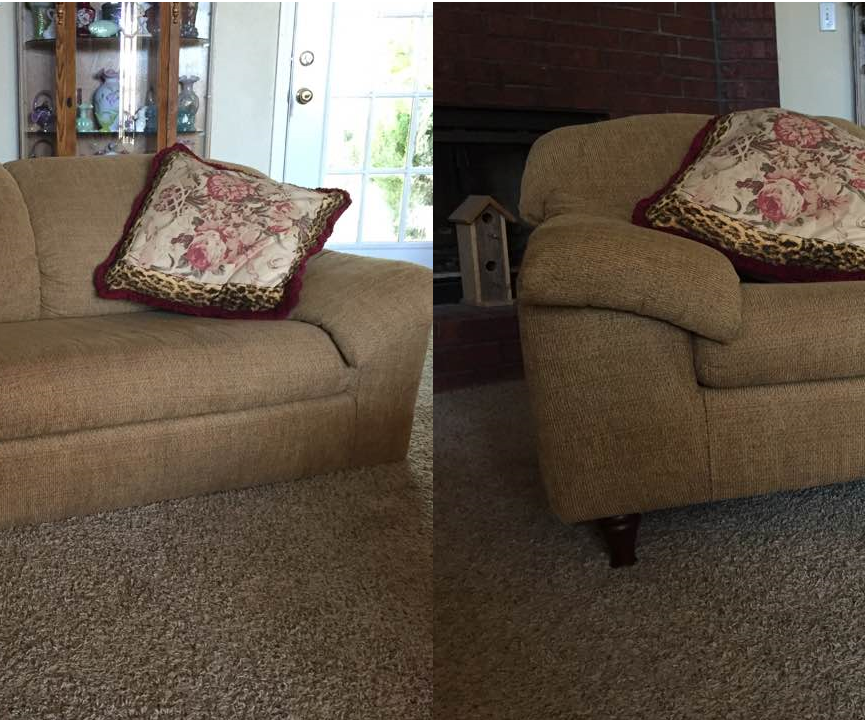Couch Legs Adding Or Changing 5, How To Put Feet On Furniture