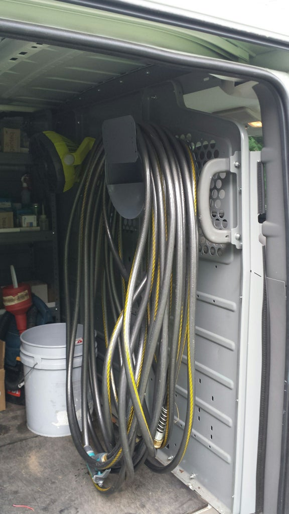 HVAC Work Van Hose Reel