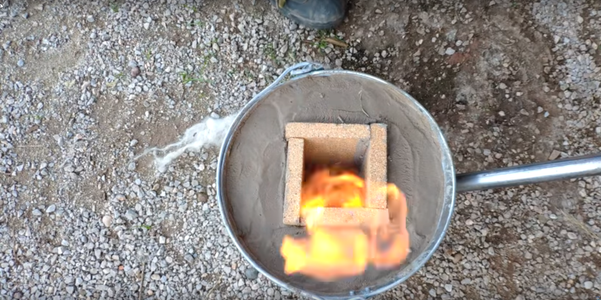 Heat Up Slowly the Foundry But Without Extra Ventilation
