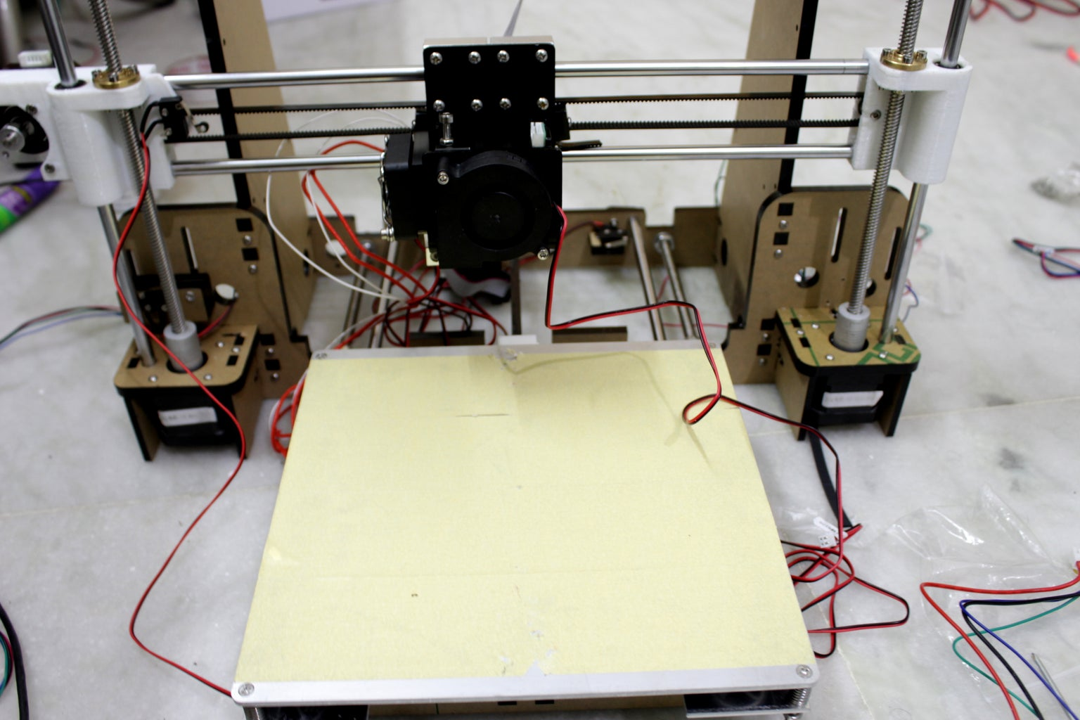 Extruder Motor ,Hot End and Cooling