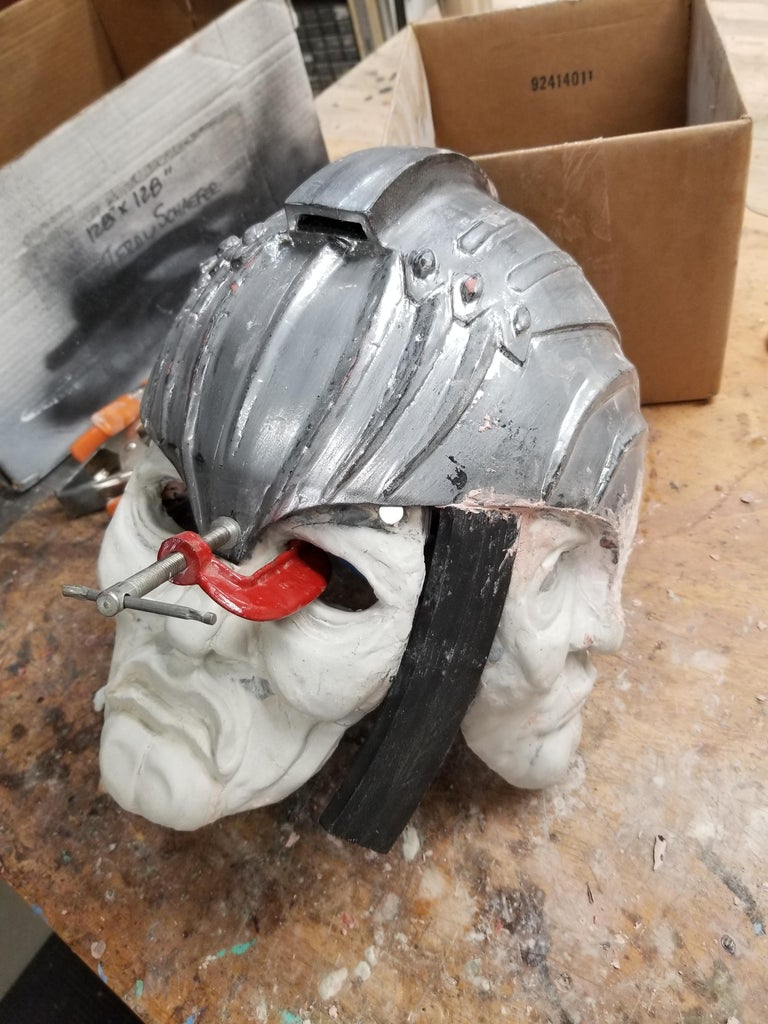 Finish the 3D Printed Parts (The Helmet Challenge!)