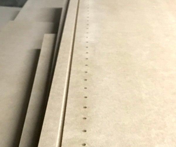 Bookcase Shelf Hole Jig