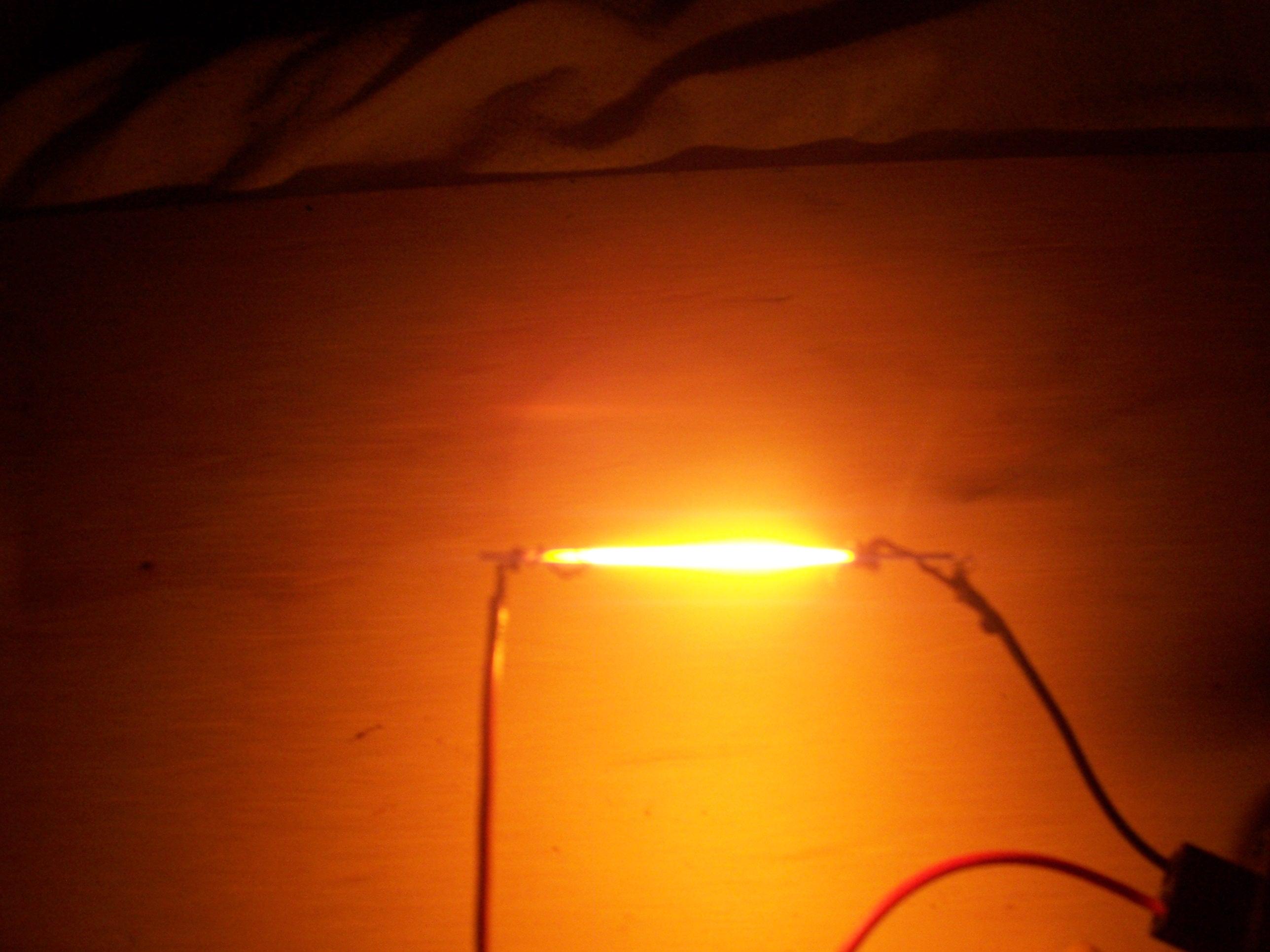 Lead light (Not a LED)