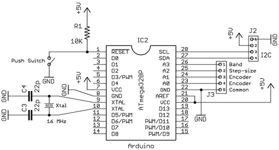 Arduino Frequency Synthesiser Using 160MHz Si5351
