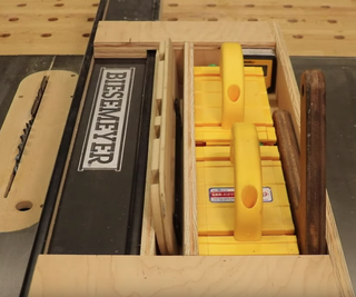 Table Saw Caddy - Safety and Organization