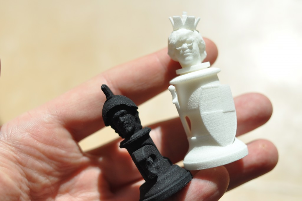 *Updated* 3D scan your head and use it as a chess piece.