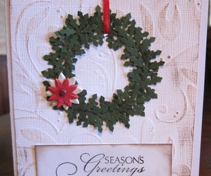 12 Days of Christmas Cards: Day 1