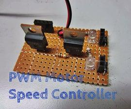 Make a PWM Motor Speed Controller