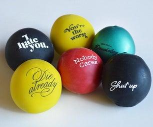 DIY Jerk Balloon Stress Balls