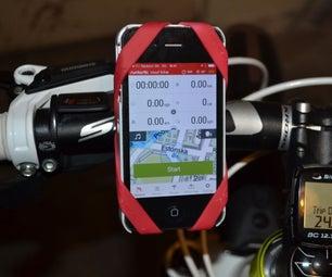 DIY: Bike Smartphone Holder